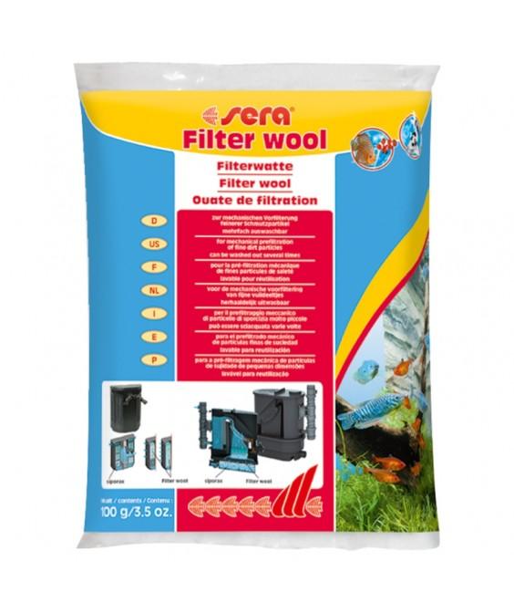 Sera Filter Wool 100gr